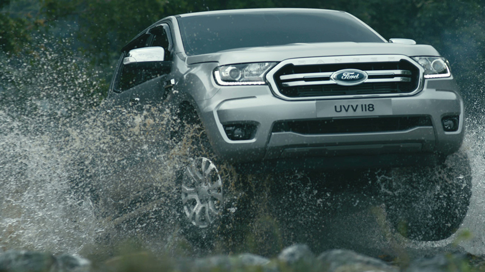 Ford Ranger 'waterfall' DC