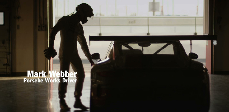 Porsche & Mark Webber 'dont text and drive'