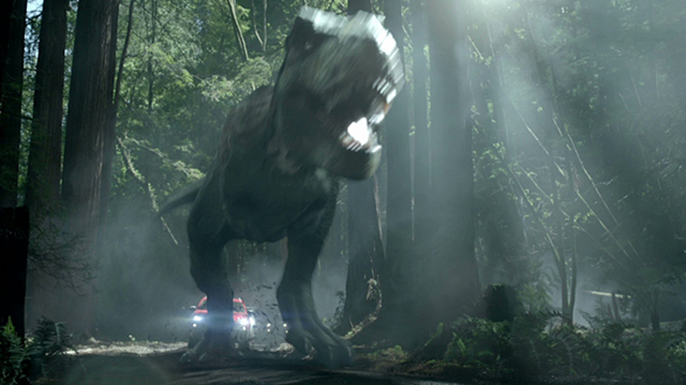 Jeep 'Jurassic World - have we met?'
